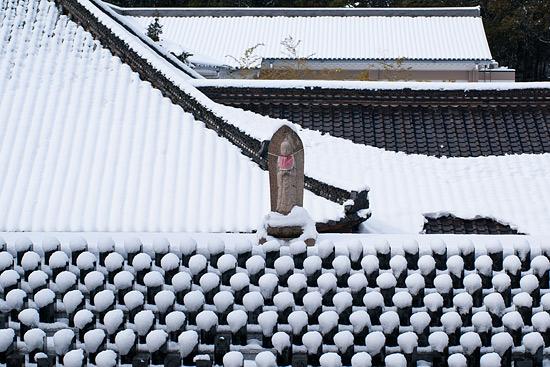 雪の興正寺-1