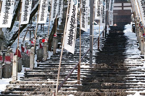雪の興正寺-13