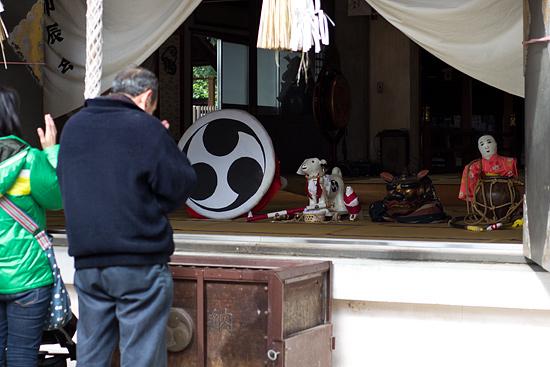 御田神社参拝