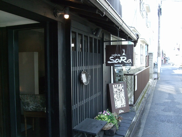 cafe de SaRa 外観