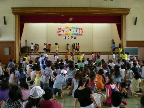 田上小学校サマーフェスター