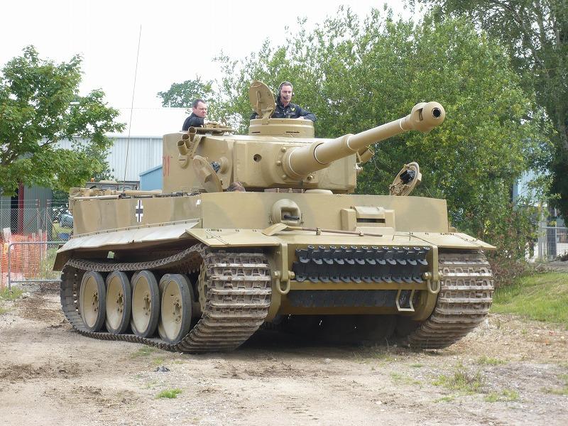 ティーガーⅠ キター! | ボービントンのティーガーⅠ ( タイガー戦車 ...