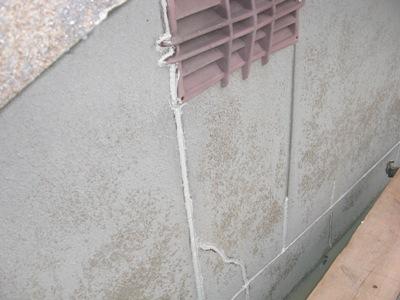H田邸外壁・屋根塗装工事~外壁下地処理
