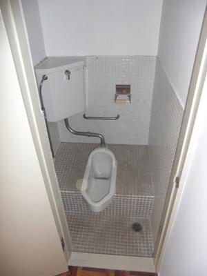 某社宅トイレと浴室のリフォーム