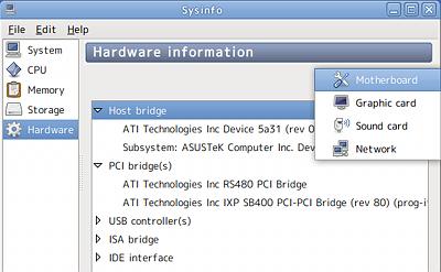 Ubuntu Sysinfo システム情報 ハードウェア マザーボード