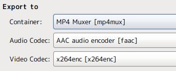 Ubuntu PiTiVi 動画編集 MP4